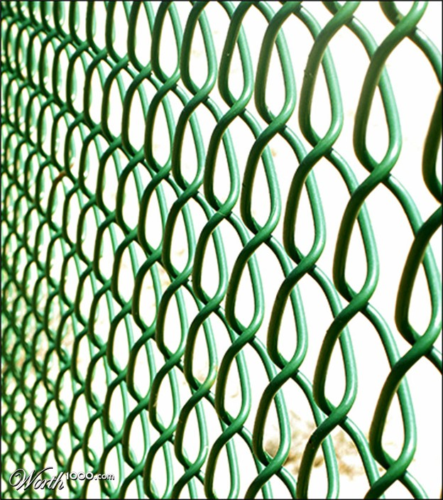 amk chain link green
